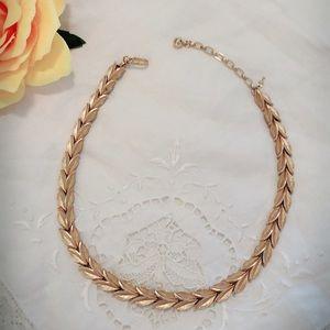 Vintage Trifari Gold Necklace